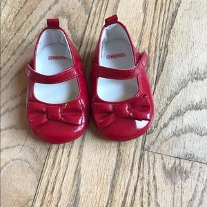 Infant shoes Red. Size 1